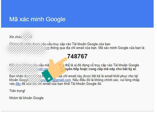 Hướng dẫn cách lấy lại mật khẩu gmail khi không nhớ thông tin