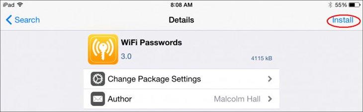 Cách Xem Pass Wifi Trên Iphone Chưa Jailbreak 3