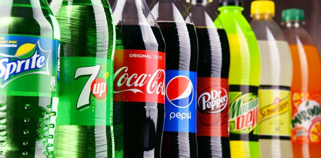 Nước ngọt có ga cola là một trong những sản phẩm được nhiều người yêu thích