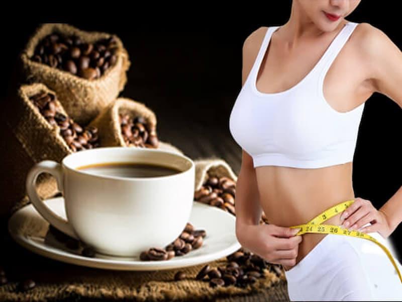 Uống cà phê có thể giảm cân