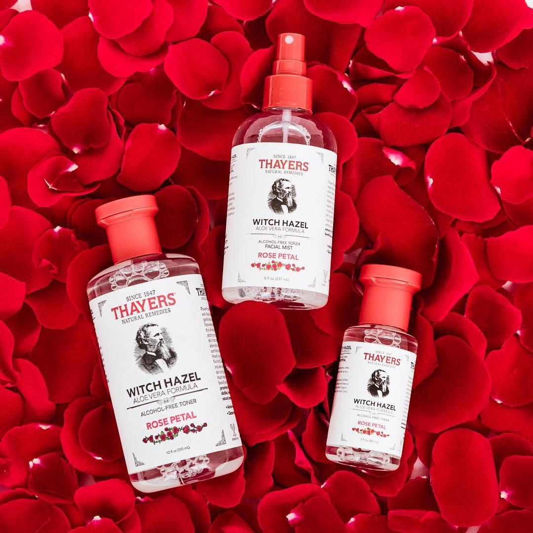 Nước hoa hồng THAYERS ROSE PETAL 89ml - Hoa Hồng | Vivalust.vn
