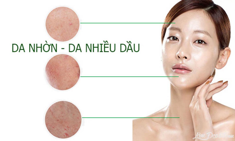 Cách khắc phục da nhờn hiệu quả